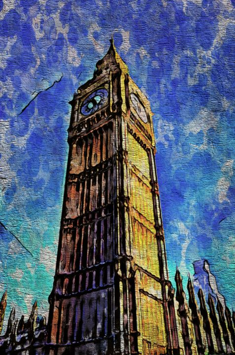 Big Ben in London - Prints by Michel
