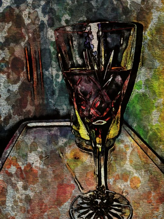 The Wine Glass - Prints by Michel