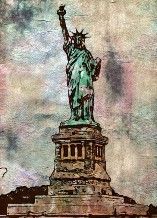 Statue of Liberty - Prints by Michel