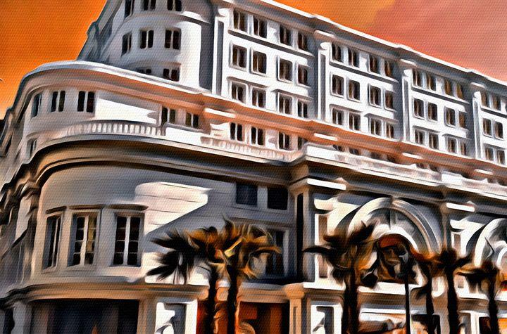 Saigon Building - Prints by Michel
