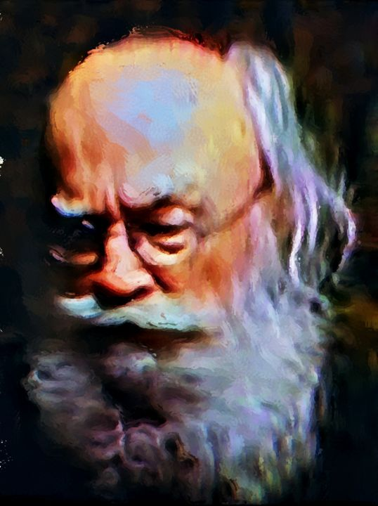 """""""Wise Old Man"""" - Prints by Michel"""