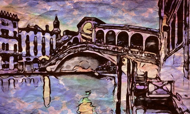 """Venice Love"" - Prints by Michel"