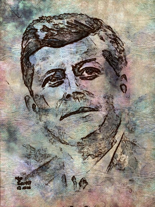 John Kennedy - Prints by Michel
