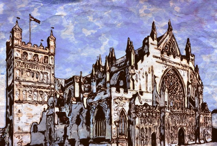 Cathedral in London - Prints by Michel