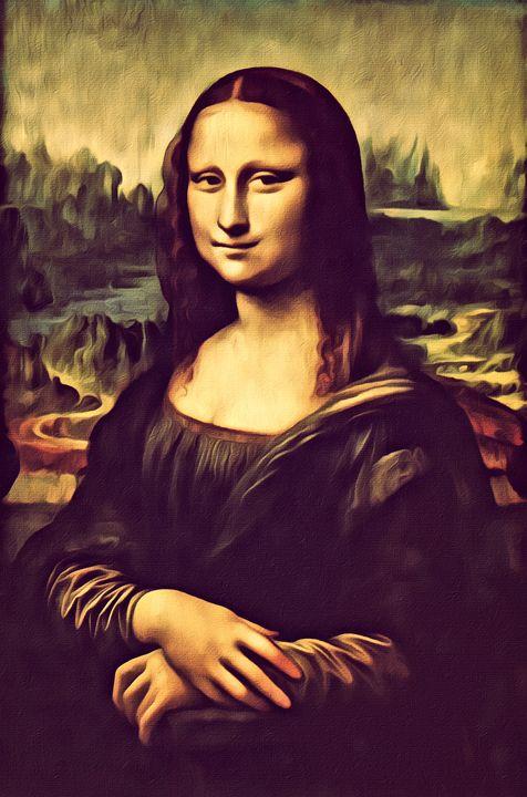 Mona Lisa Recast - Prints by Michel