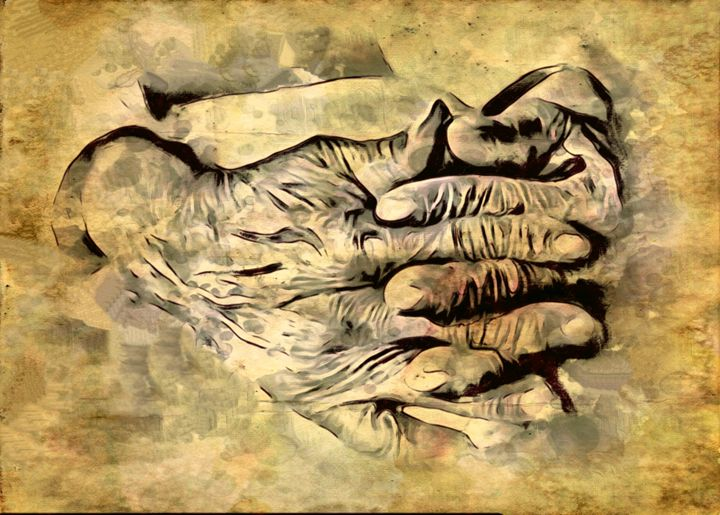 """Burnished Hands of Time"" - Prints by Michel"