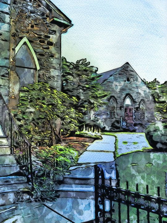 """The Gateway"" - Prints by Michel"