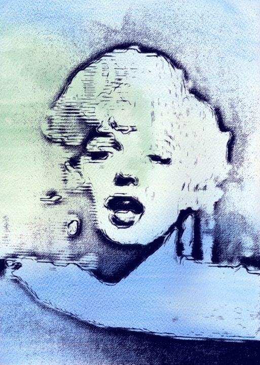 Marilyn Monroe Legend II - Prints by Michel
