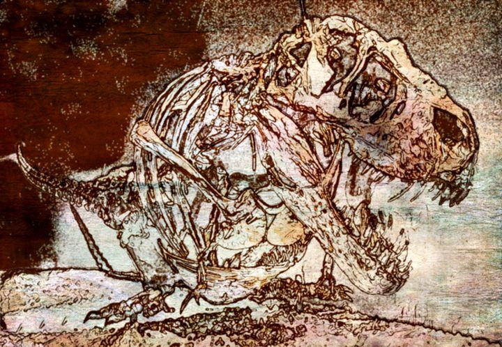 Tyrannosaurus Rex II - Prints by Michel