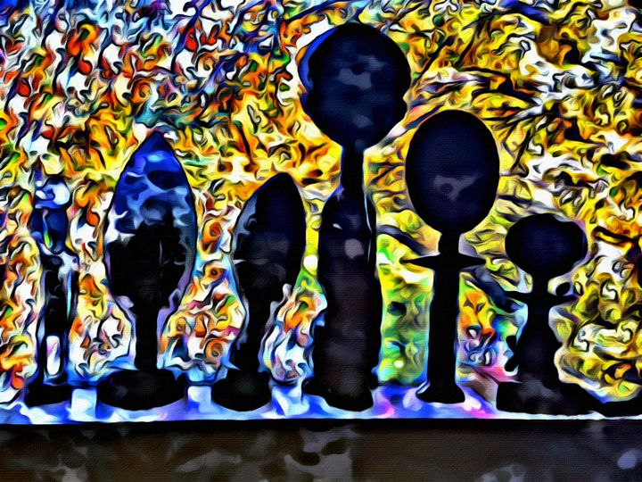 """'The African Masks"""" - Prints by Michel"""