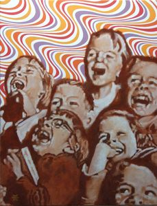 children's psychedilic laughter