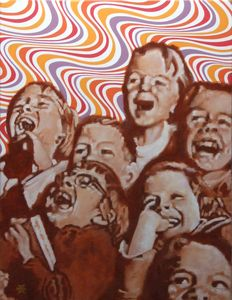 Children's psychedelic laughter