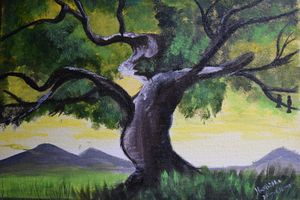 Exquisite Tree Painting