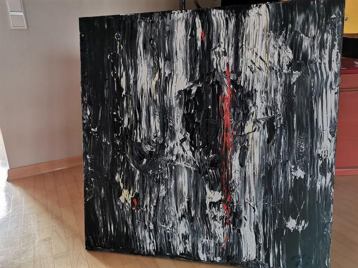 Black art, Moments - gemaltes Bild