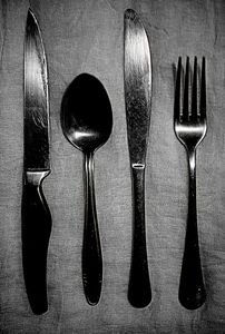 Knives, spoons and forks