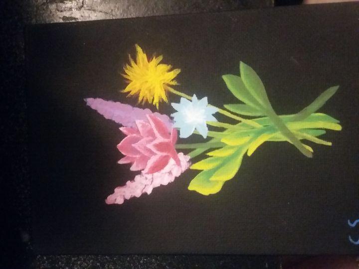 Flower bouquet - ChelsArt