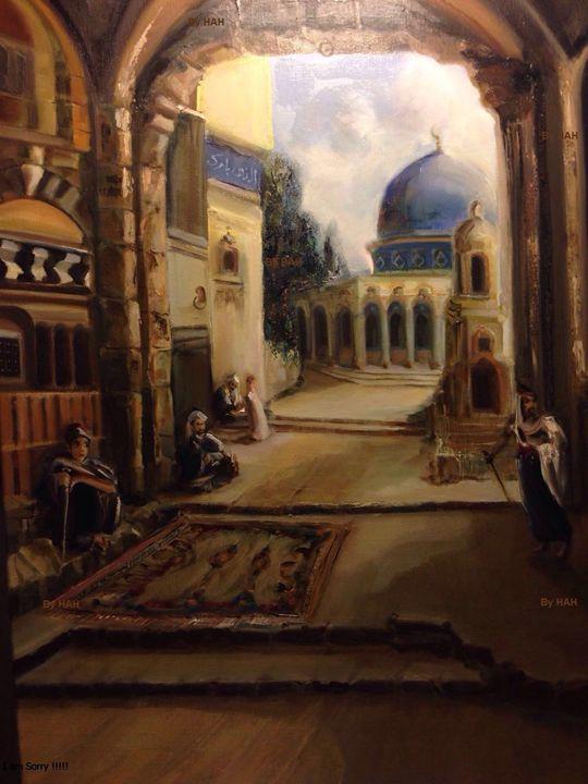 Oil on canvas - Display