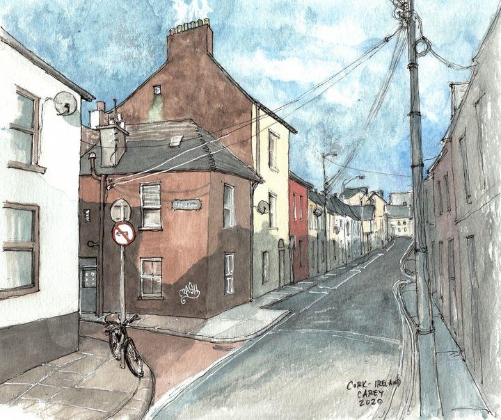 Dunbar Street - Cork, Ireland - Rob Carey Art