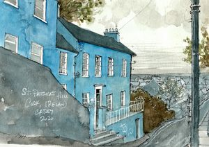 St. Patrick's Hill - Cork, Ireland - Rob Carey Art