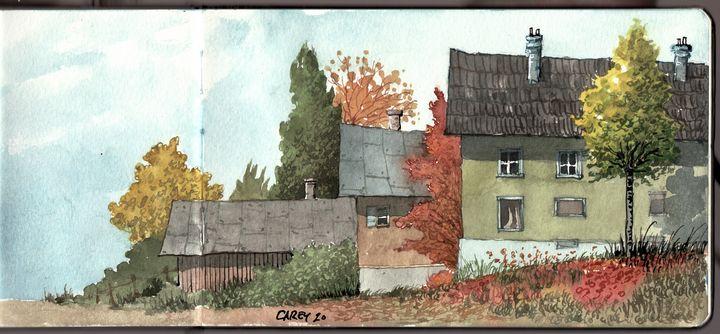 Holzen, Germany Sketchbook - Rob Carey Art