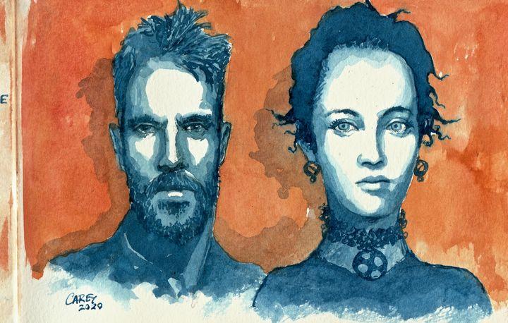 Mr. and Mrs. - Rob Carey Art