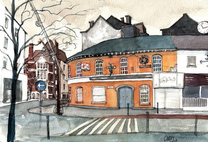 Popes Quay Cork, Ireland - Rob Carey Art