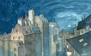 Night - Rob Carey Art