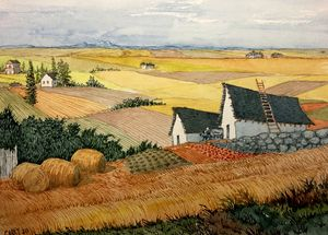 Harvest Time - Rob Carey Art