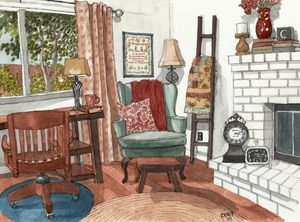 The Artist's Home - Rob Carey Art
