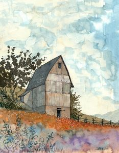 Tall Barn - Rob Carey Art