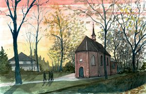 Dutch Reformed Church in Nuenen - Rob Carey Art