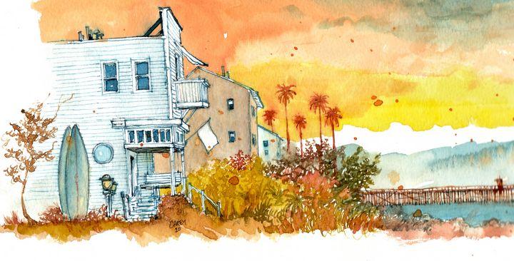 The Golden Hour - Rob Carey Art