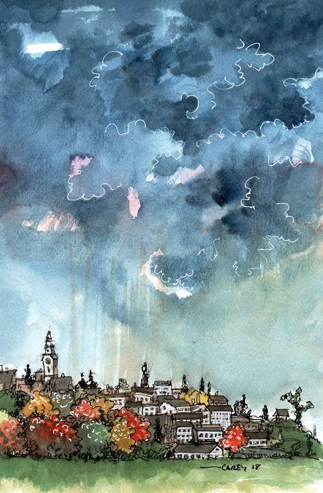 Sudden Storm - Rob Carey Art