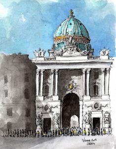 Vienna Austria - Rob Carey Art