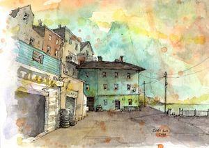 Cobh, Ireland - Rob Carey Art