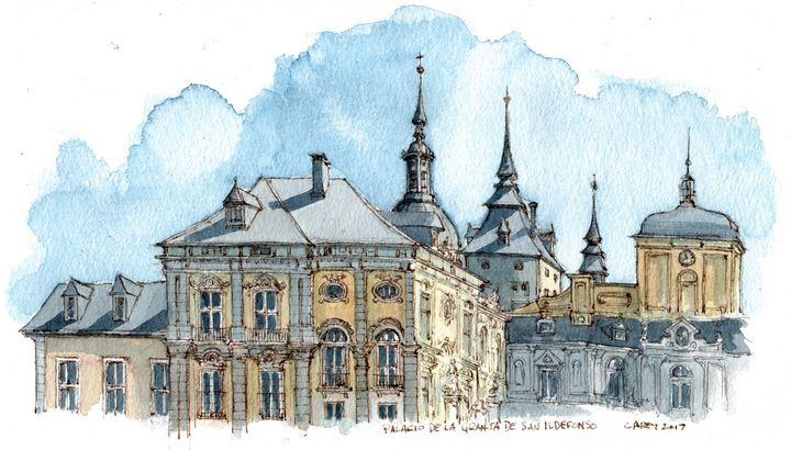 Palacio de la Granja San Ildefonso - Rob Carey Art
