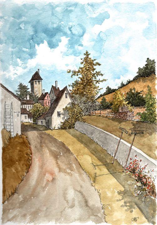 German Village - Rob Carey Art