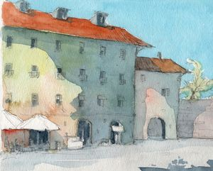 Italy Summer - Rob Carey Art