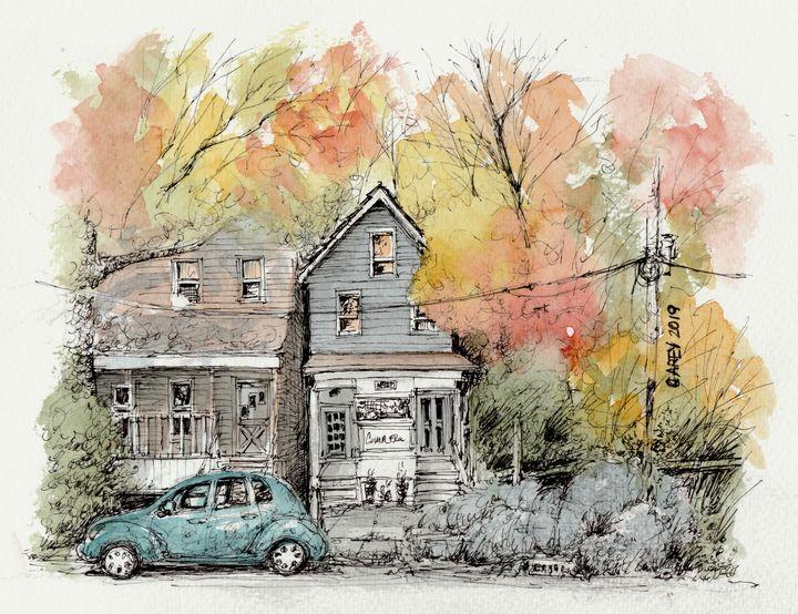 Autumn in New Jersey - Rob Carey Art