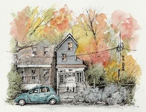 Autumn in New Jersey - Rob Carey Art