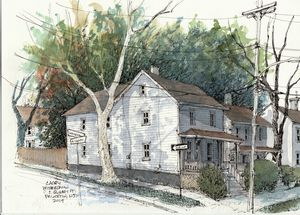 Princeton Neighborhood - Rob Carey Art