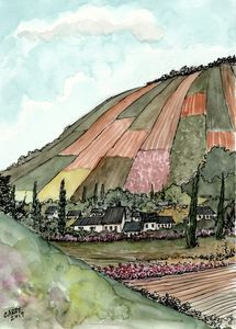 German Hillside - Rob Carey Art