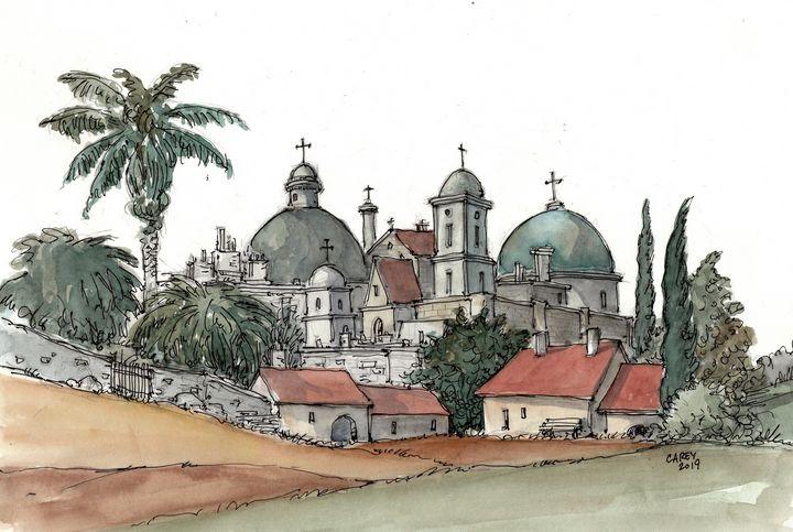 Jerusalem - Rob Carey Art
