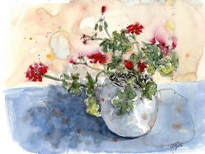 Geranium - Rob Carey Art