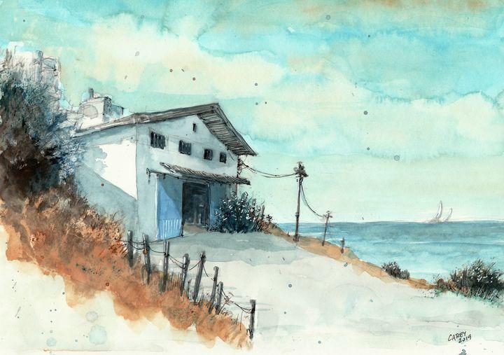 Boathouse - Rob Carey Art