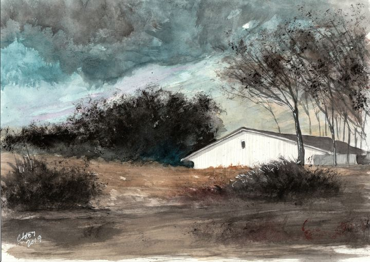 Central Valley Storm - Rob Carey Art