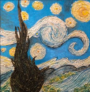Van Gogh In Glue