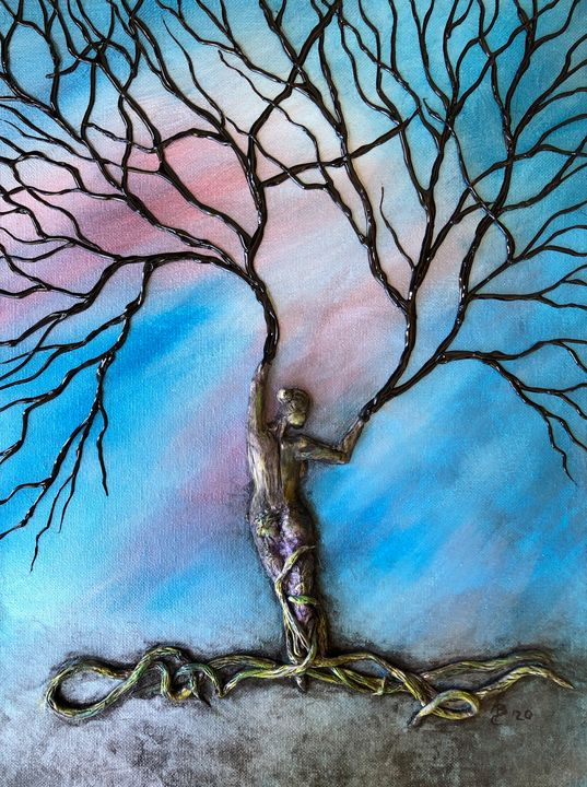 Womanly Strength - Angel B Coleman Art