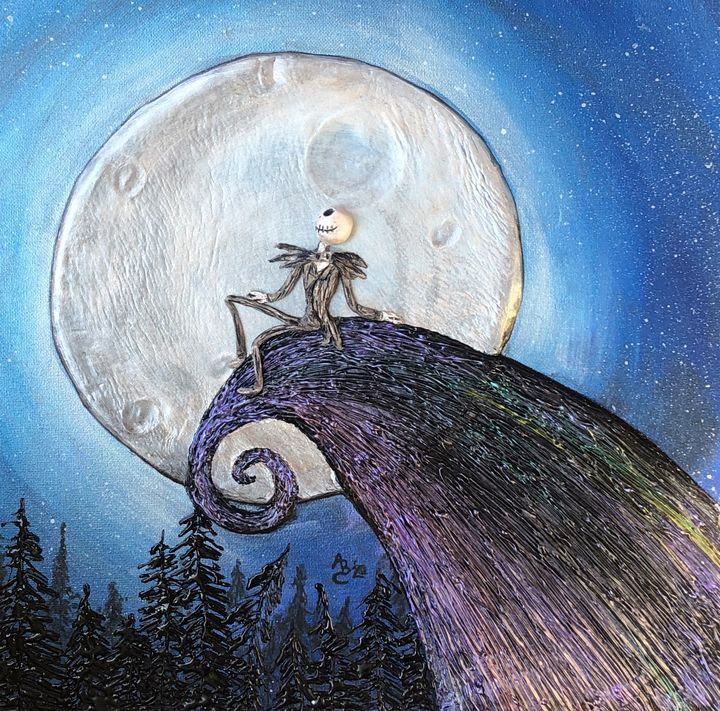Jack And The Moon - Angel B Coleman Art