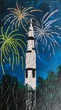 Fireworks and Saturn V